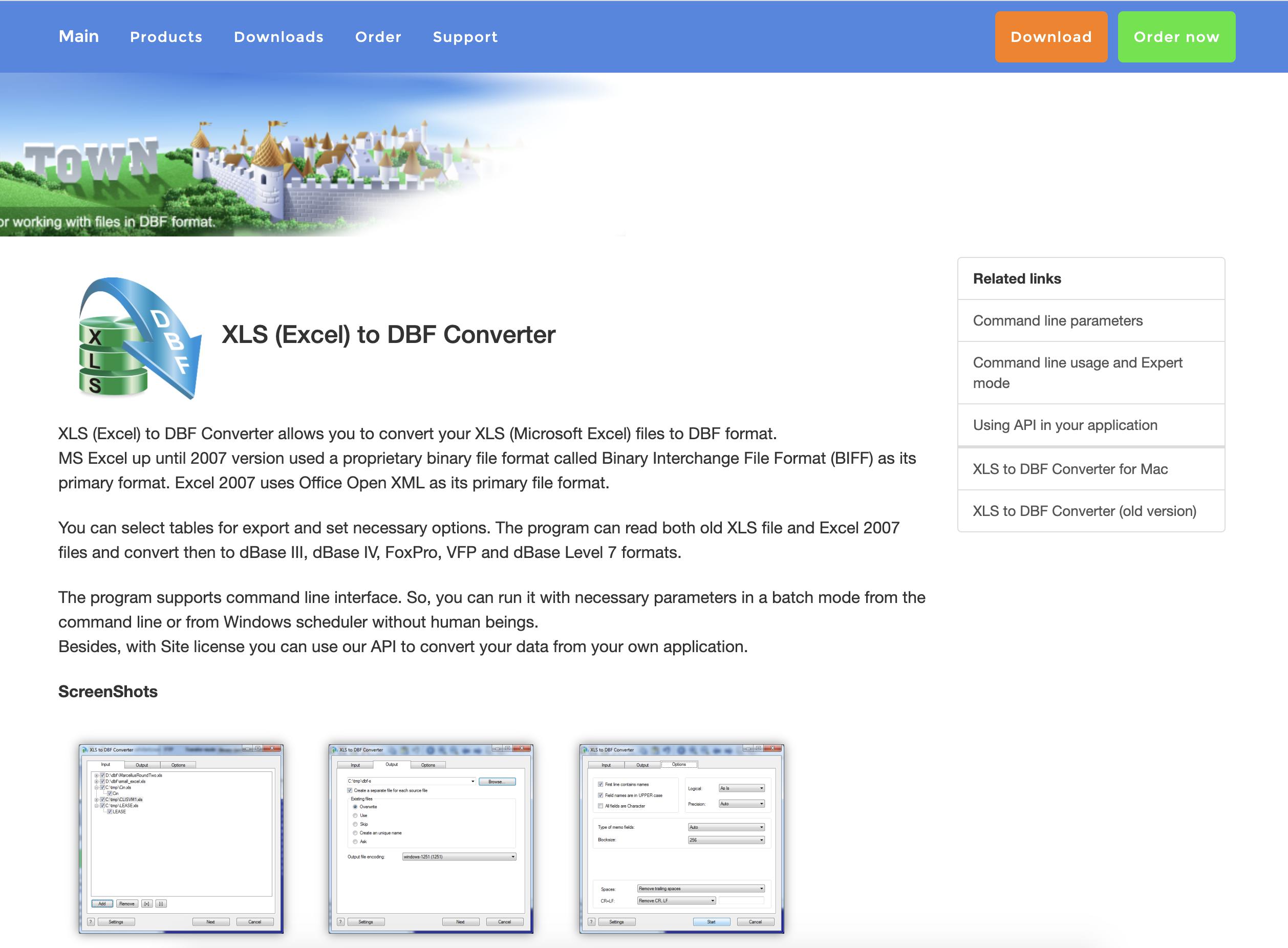 как конвертировать эксель в дбф (DBF -формат базы данных)